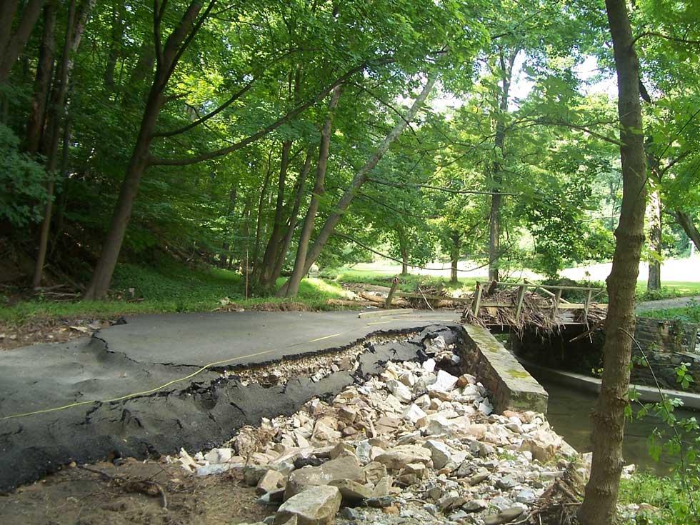 Bridge Repair - Before