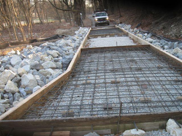 Bridge Repair - During